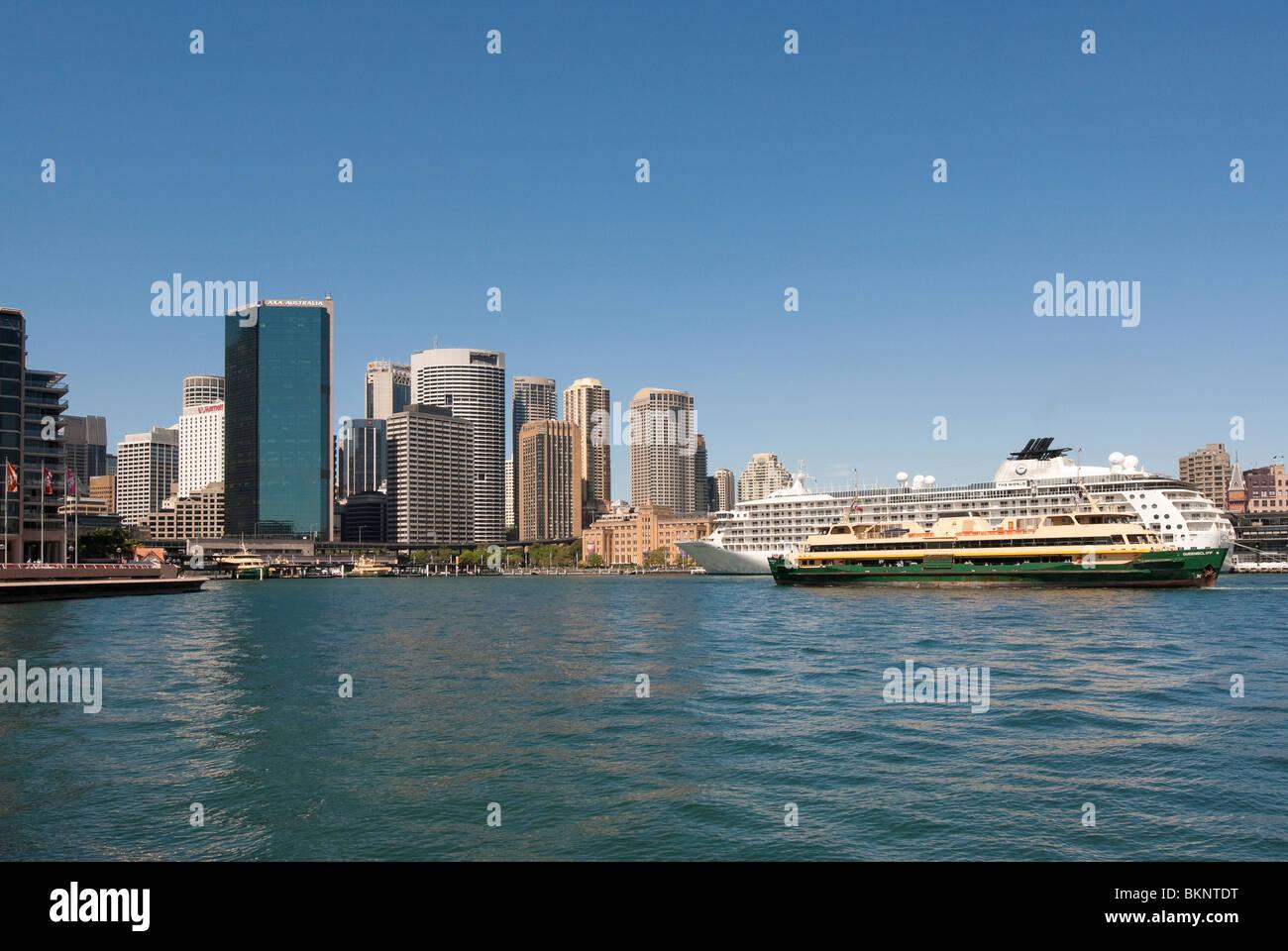 Circular Quay Sydney - Stock Image