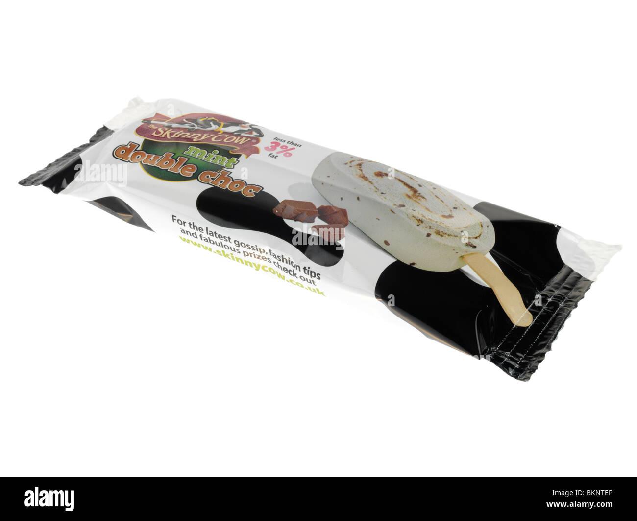 Mint Double Chocolate Ice Cream - Stock Image