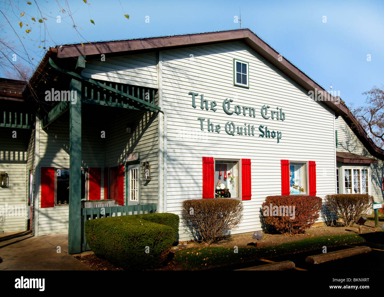 Shops at the Essenhaus Inn and Conference Center in Shipshewana, Indiana - Stock Image