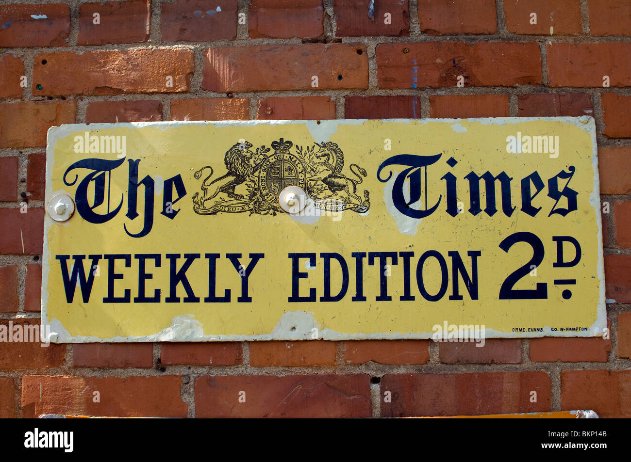 the times weekly edition,Times newspaper,2D - Stock Image