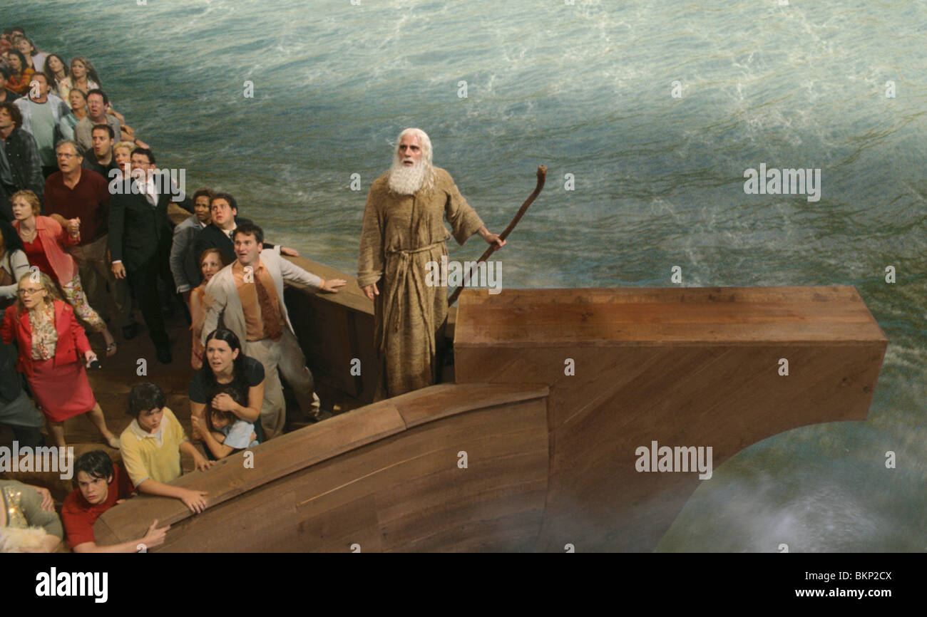 EVAN ALMIGHTY (2007) STEVE CARELL EVAL 001-02 - Stock Image