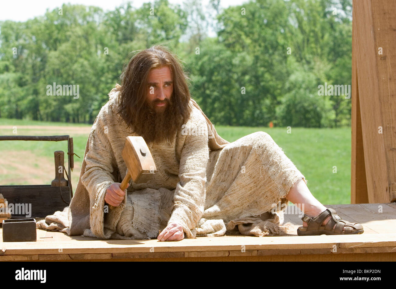 EVAN ALMIGHTY (2007) STEVE CARELL EVAL 001-06 - Stock Image