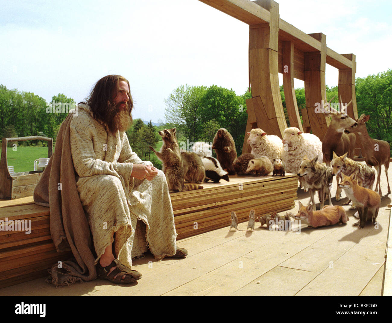 EVAN ALMIGHTY (2007) STEVE CARELL EVAL 001-20 - Stock Image