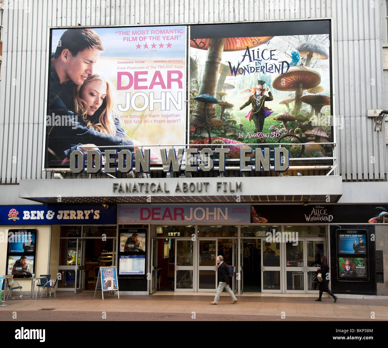 Odeon West End cinema, Leicester Square, London, England - Stock Image