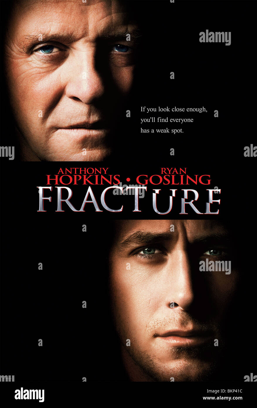 FRACTURE -2007 POSTER - Stock Image