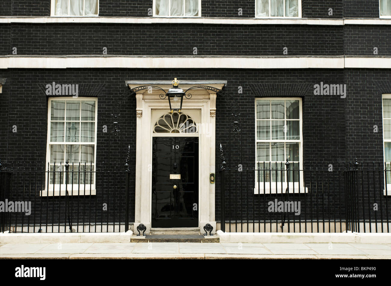 10 Downing Street, London, Prime minister residence - Stock Image
