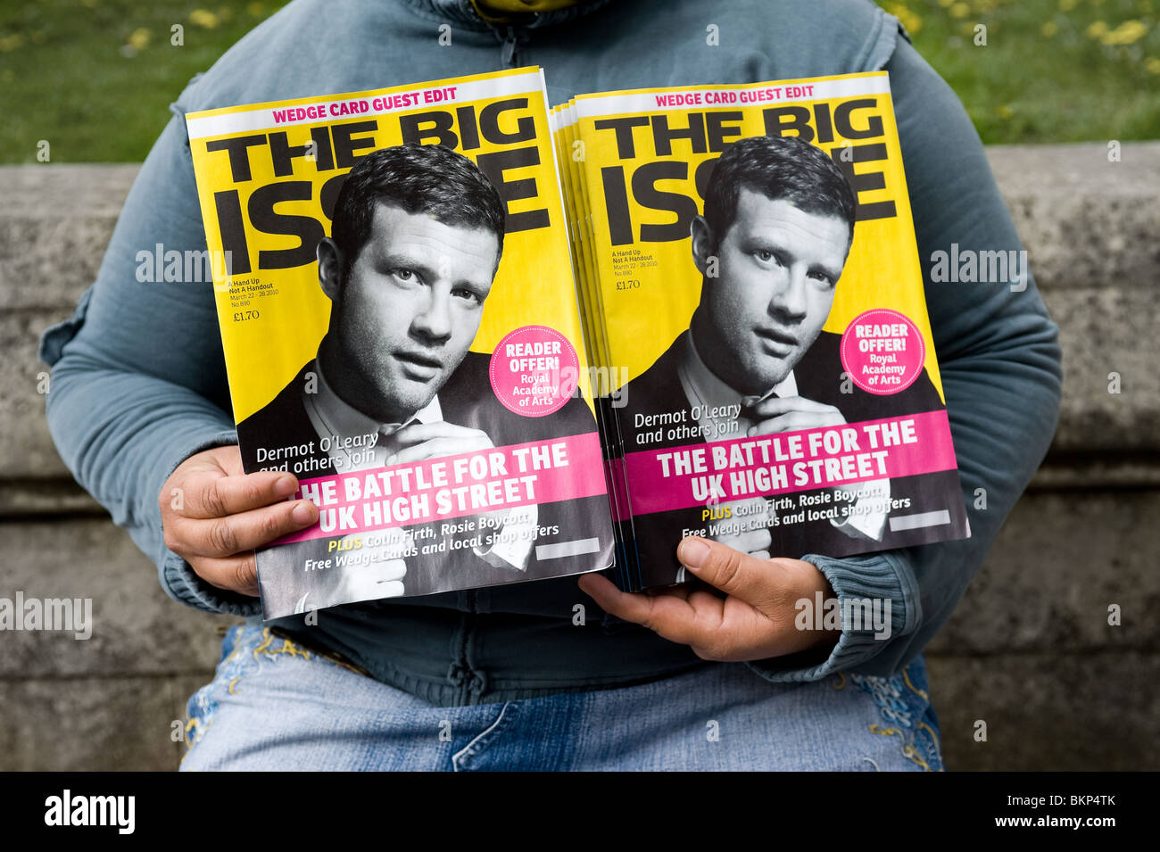 The Big Issue magazine on sale.  Photo by Gordon Scammell - Stock Image