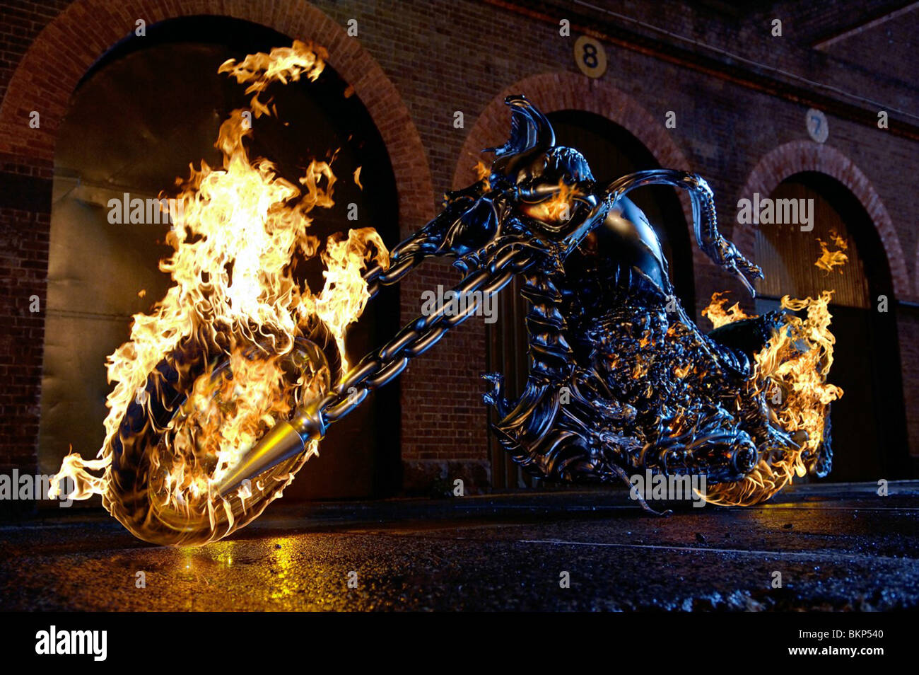GHOST RIDER -2007 - Stock Image