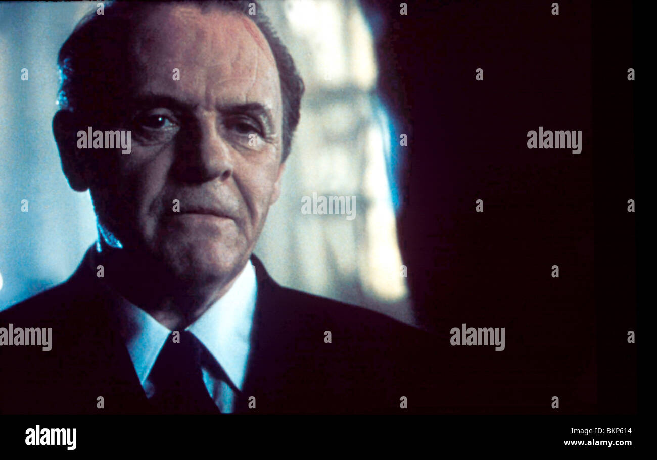 HANNIBAL -2001 ANTHONY HOPKINS Stock Photo