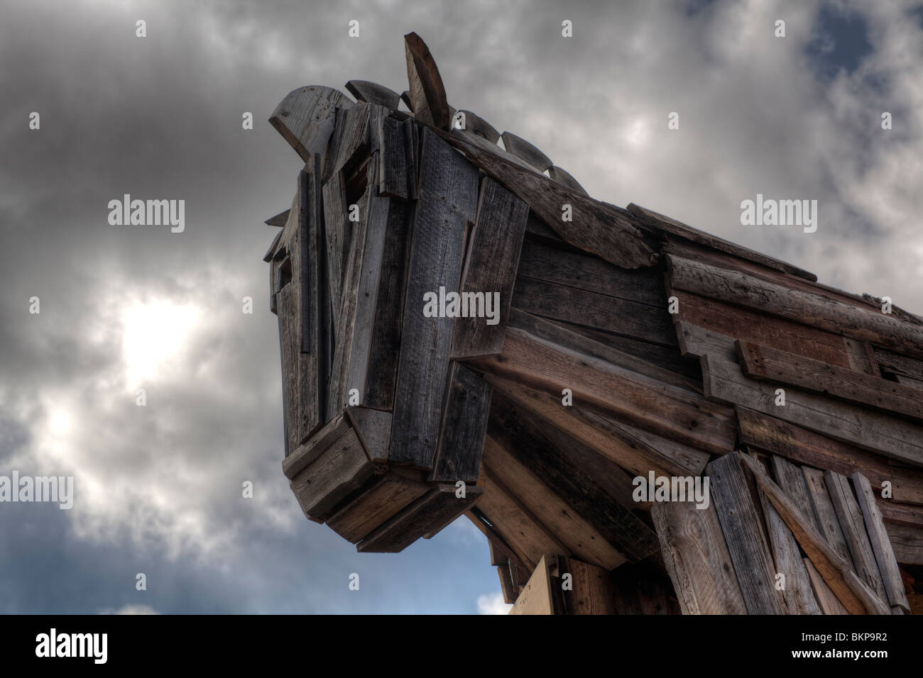 Trojan horse - Stock Image