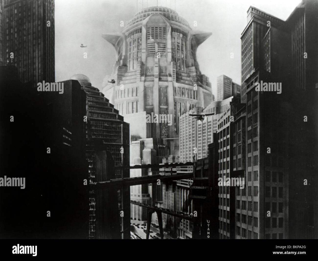 METROPOLIS -1927 - Stock Image