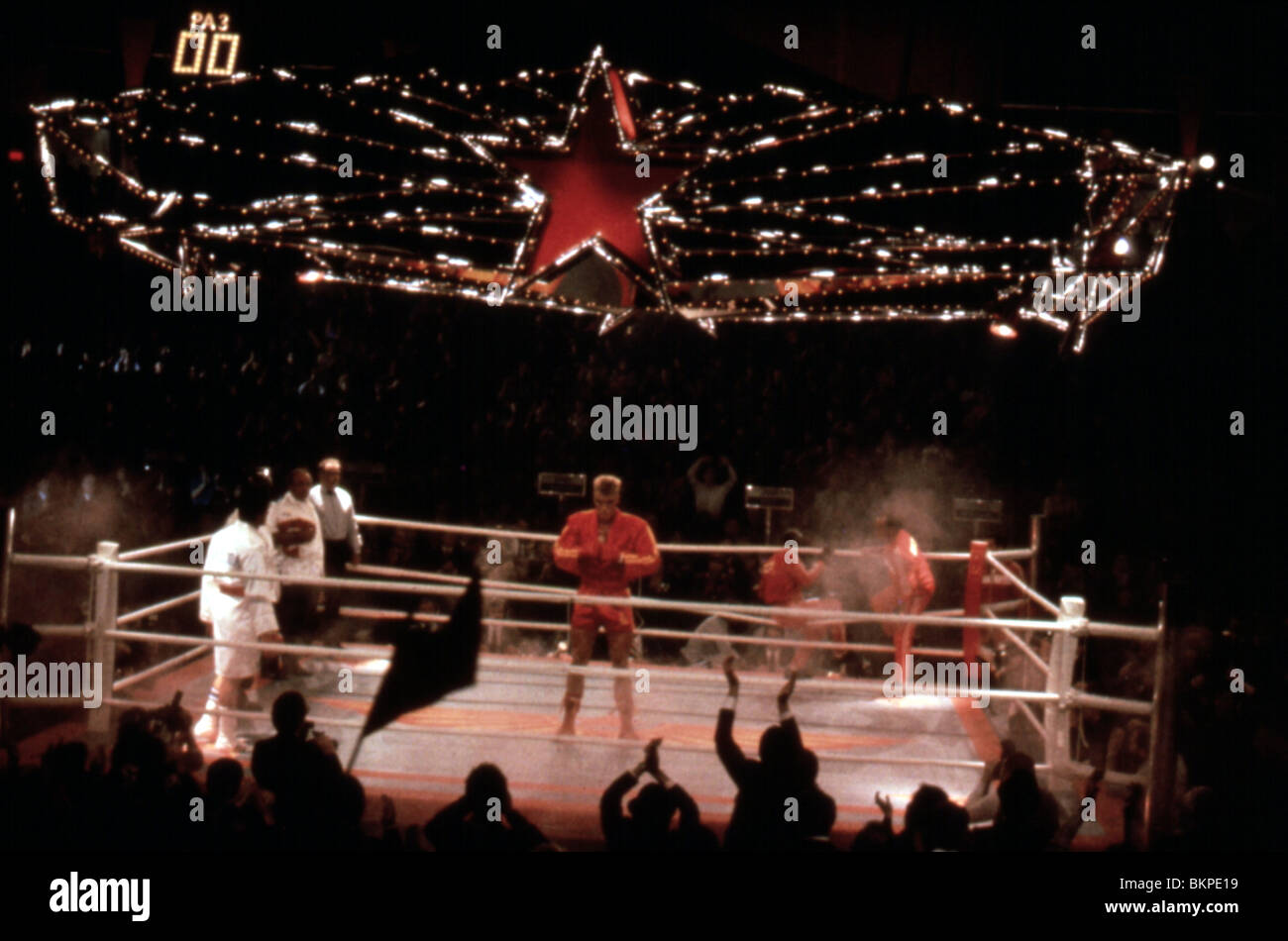 ROCKY IV -1985 - Stock Image