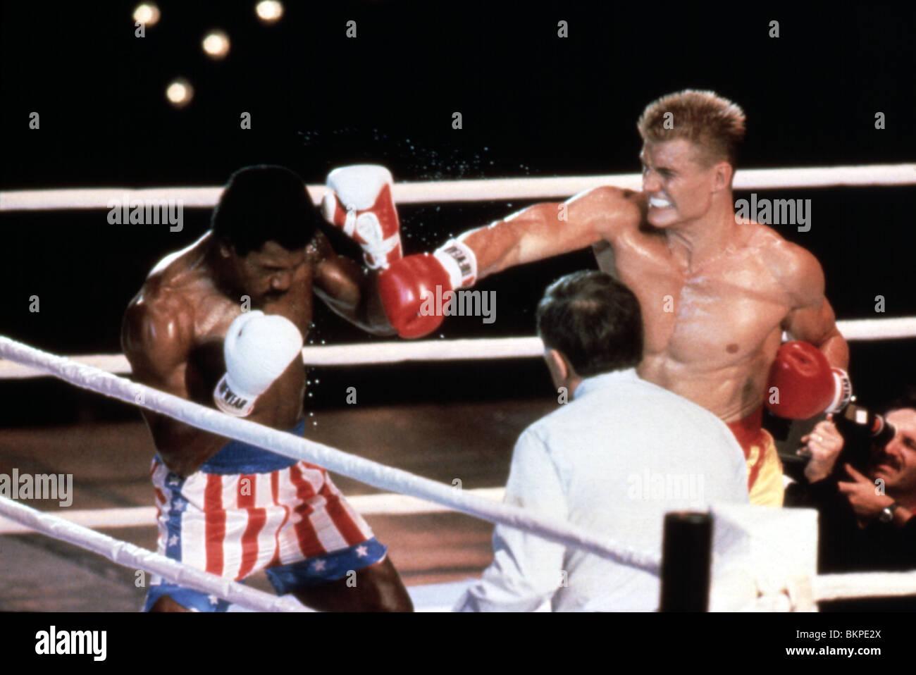 ROCKY IV -1985 DOLPH LUNDGREN Stock Photo