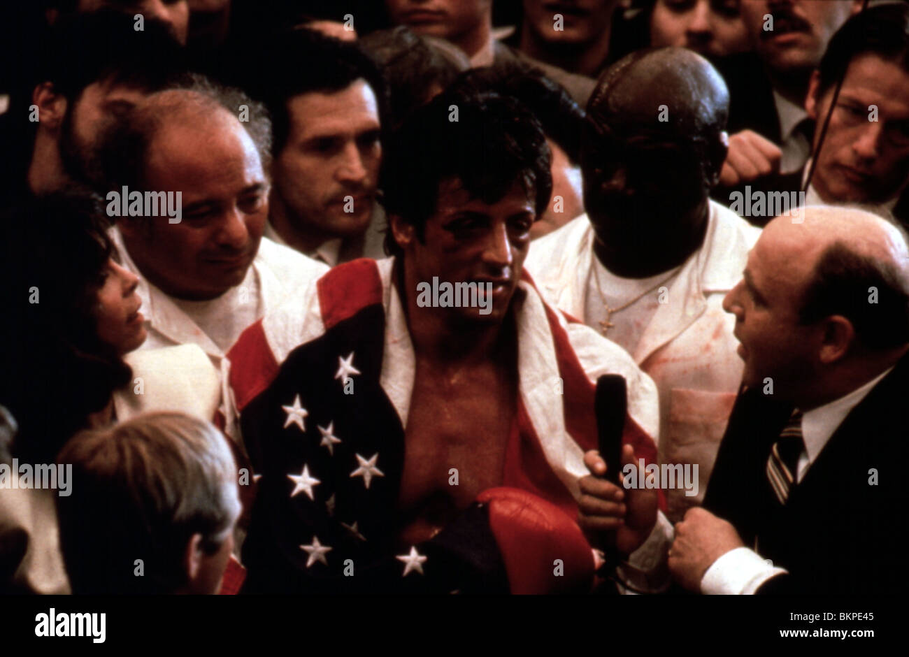 ROCKY IV (1985) SYLVESTER STALLONE RK4 095 - Stock Image