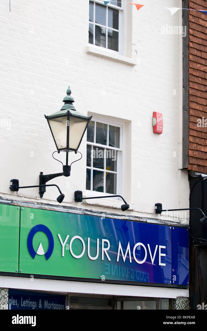 Your Move estate agent sign.  Photo by Gordon Scammell - Stock Image