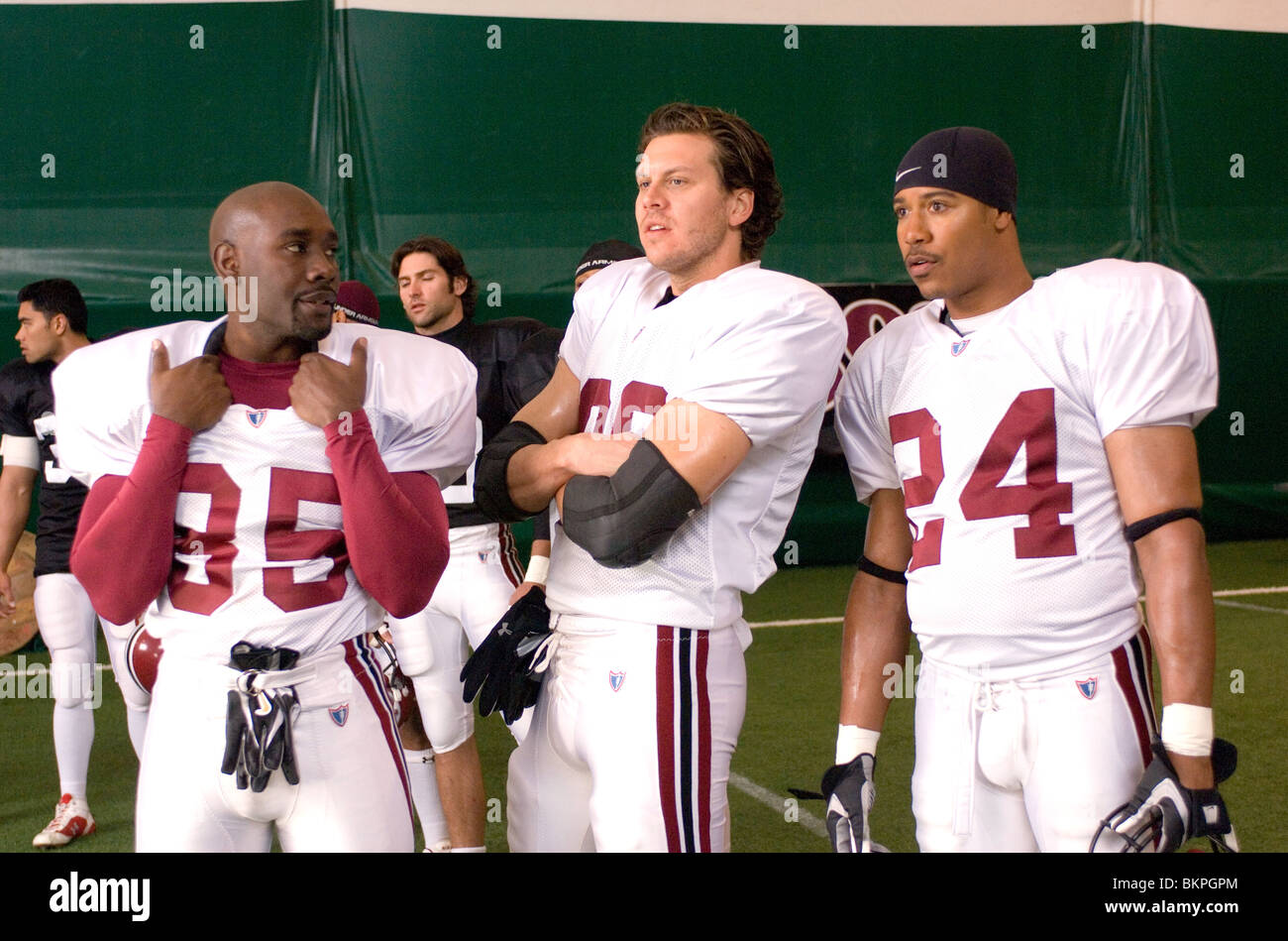 THE GAME PLAN (2007) MORRIS CHESTNUT, HAYES MACARTHUR, BRIAN WHITE ANDY FICKMAN (DIR) 015 - Stock Image