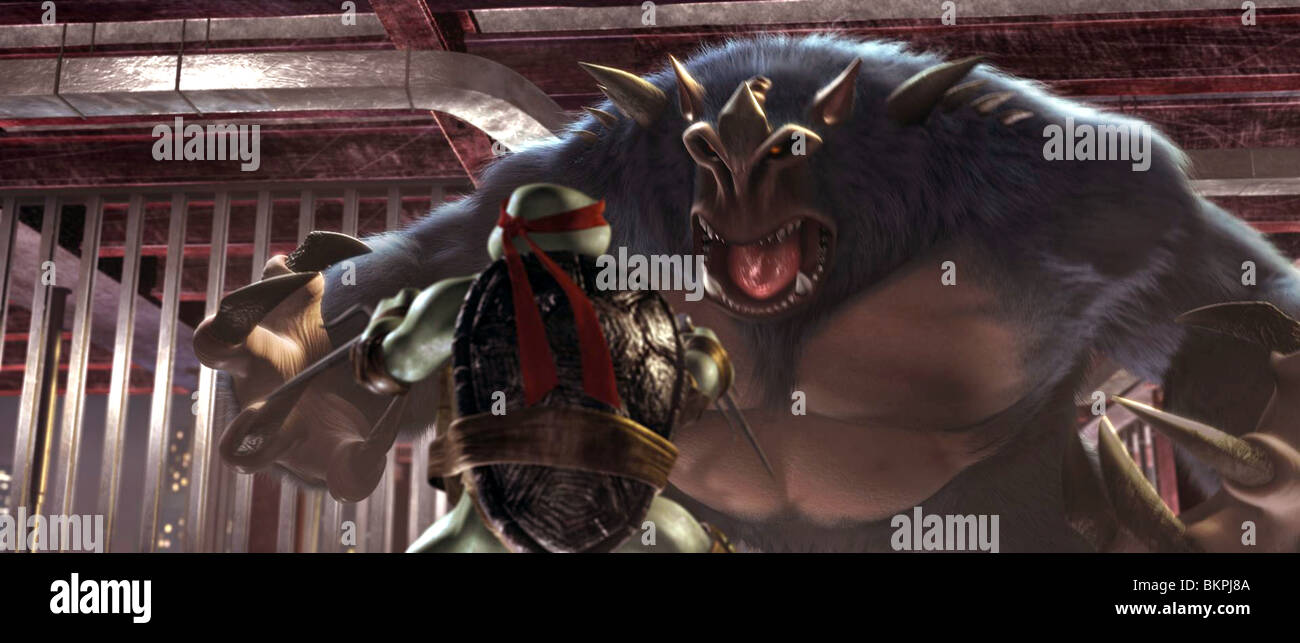 Tmnt 2007 Teenage Mutant Ninja Turtles Alt Raphael Bigfoot