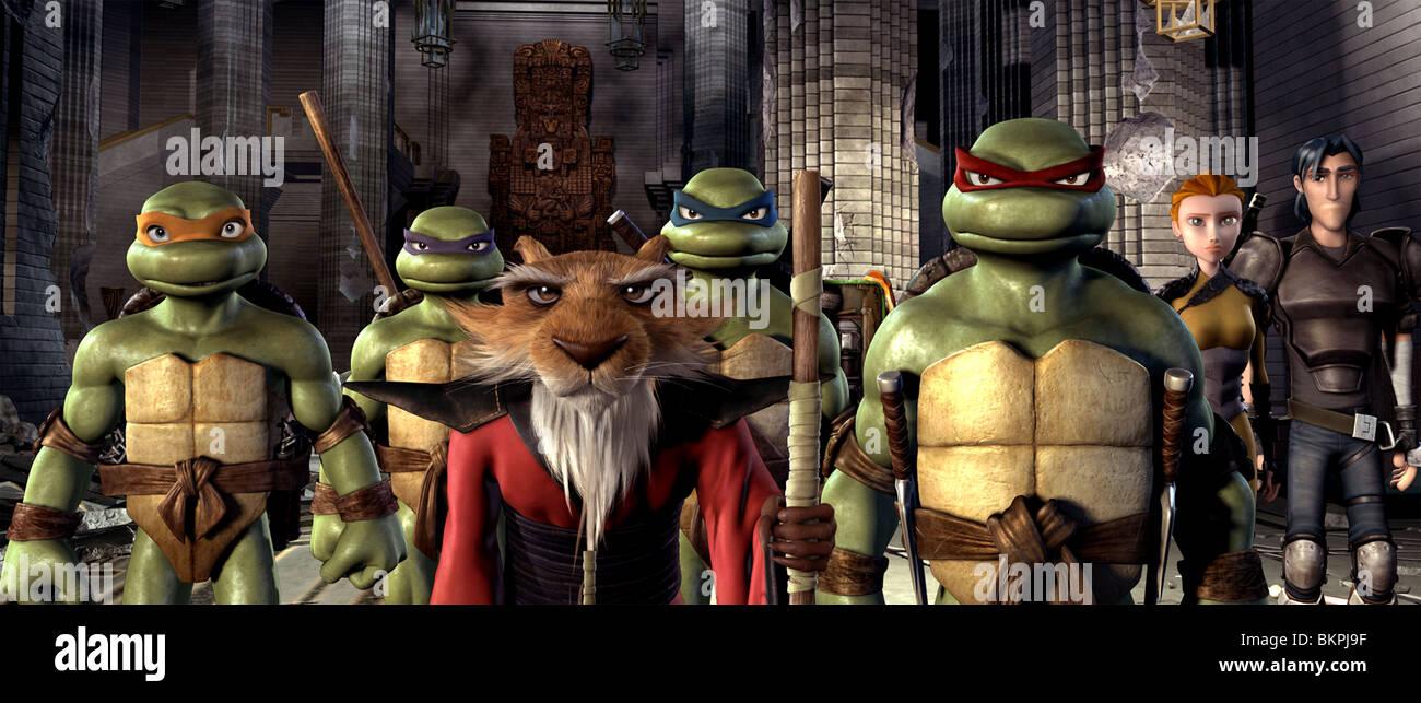 Tmnt 2007 Teenage Mutant Ninja Turtles Alt Michelangelo Stock