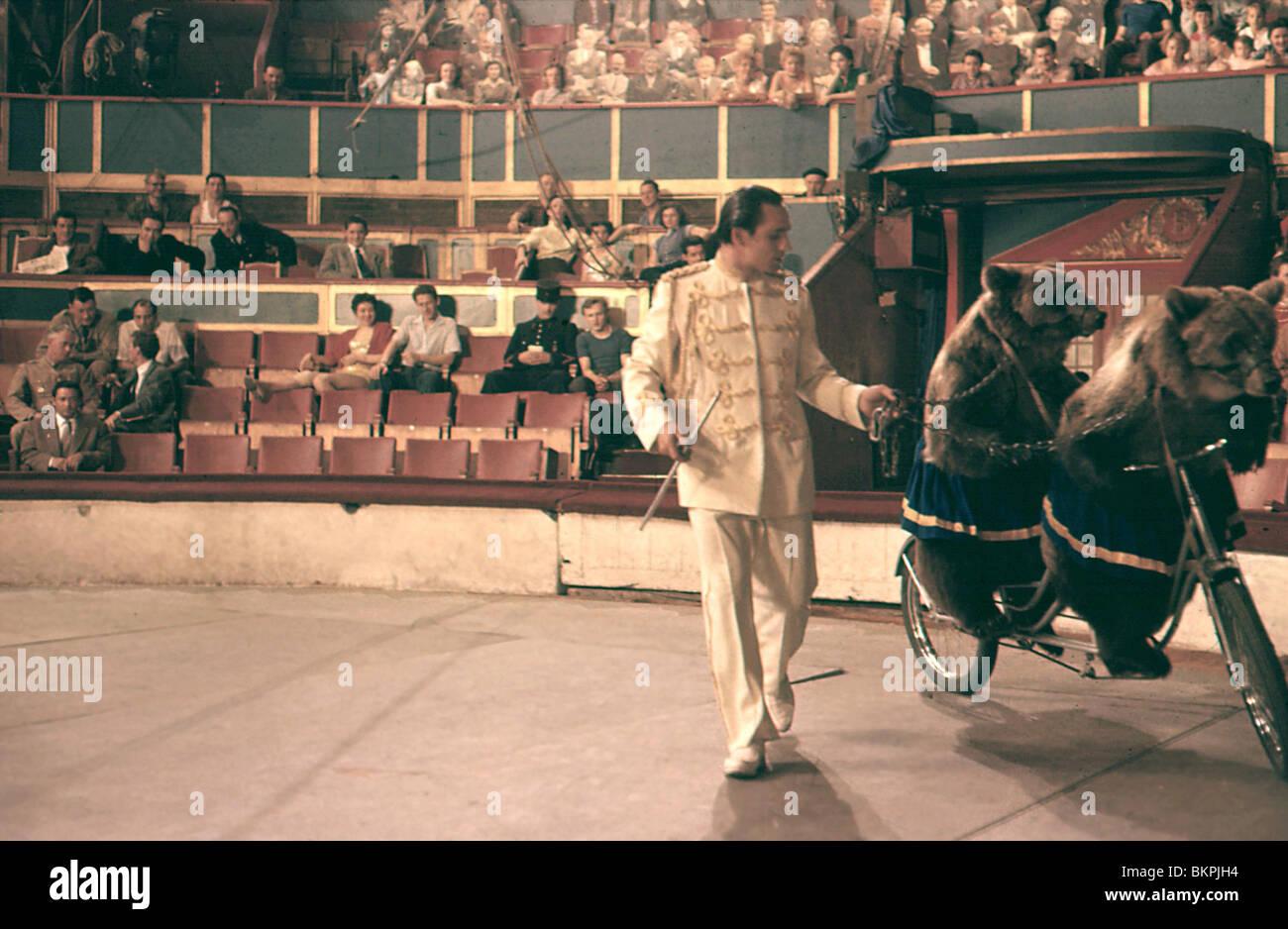 TRAPEZE -1956 - Stock Image
