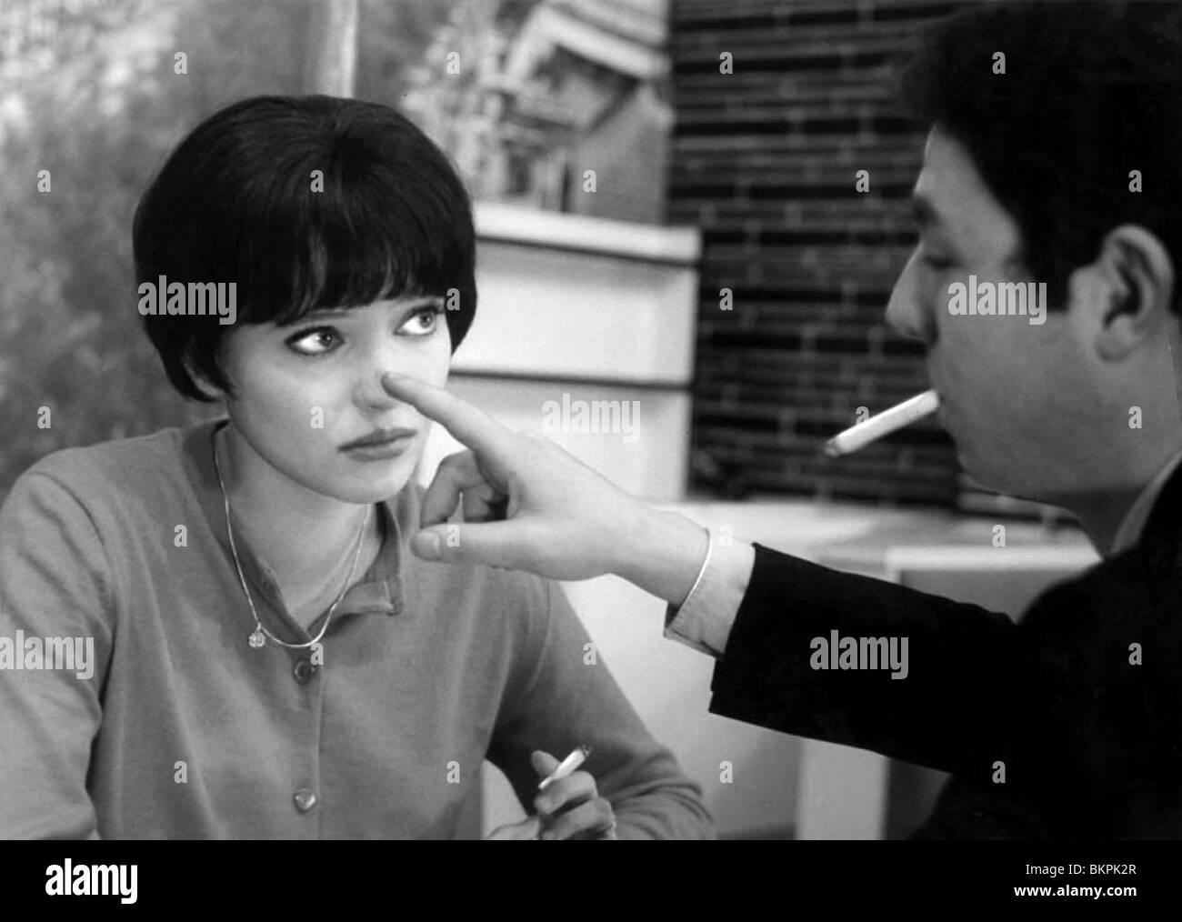 VIVRE SA VIE (1962) IT'S MY LIFE (ALT) MY LIFE TO LIVE (ALT) ANNA KARINA JEAN-LUC GODARD (DIR) VIVR 002 Stock Photo
