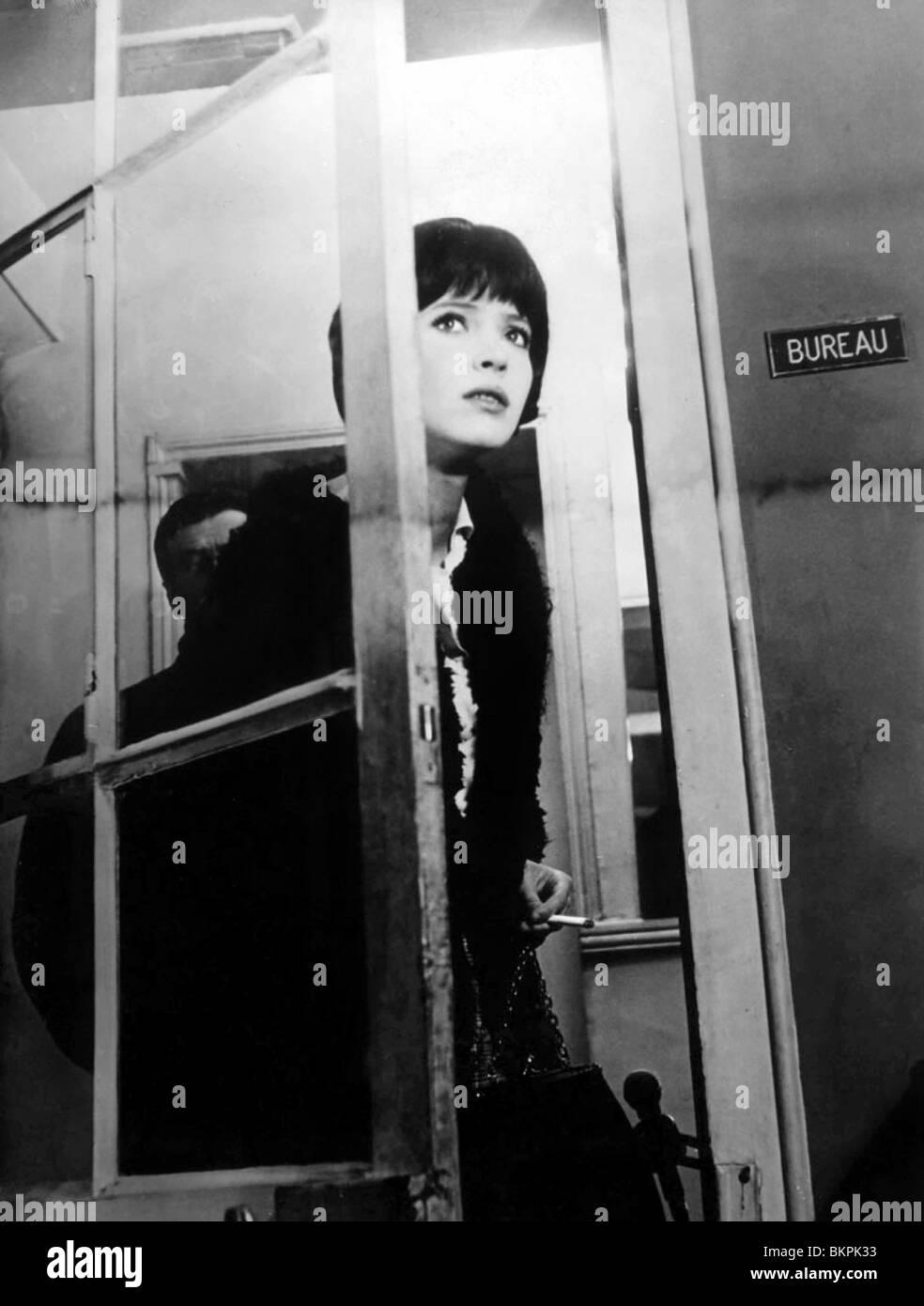 VIVRE SA VIE (1962) IT'S MY LIFE (ALT) MY LIFE TO LIVE (ALT) ANNA KARINA JEAN-LUC GODARD (DIR) VIVR 004 - Stock Image