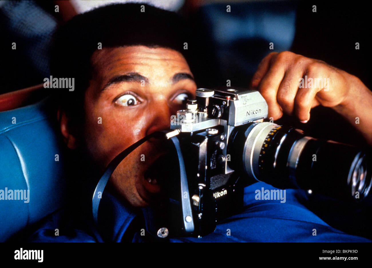 WHEN WE WERE KINGS (1997) MUHAMMAD ALI WWWK 001 - Stock Image