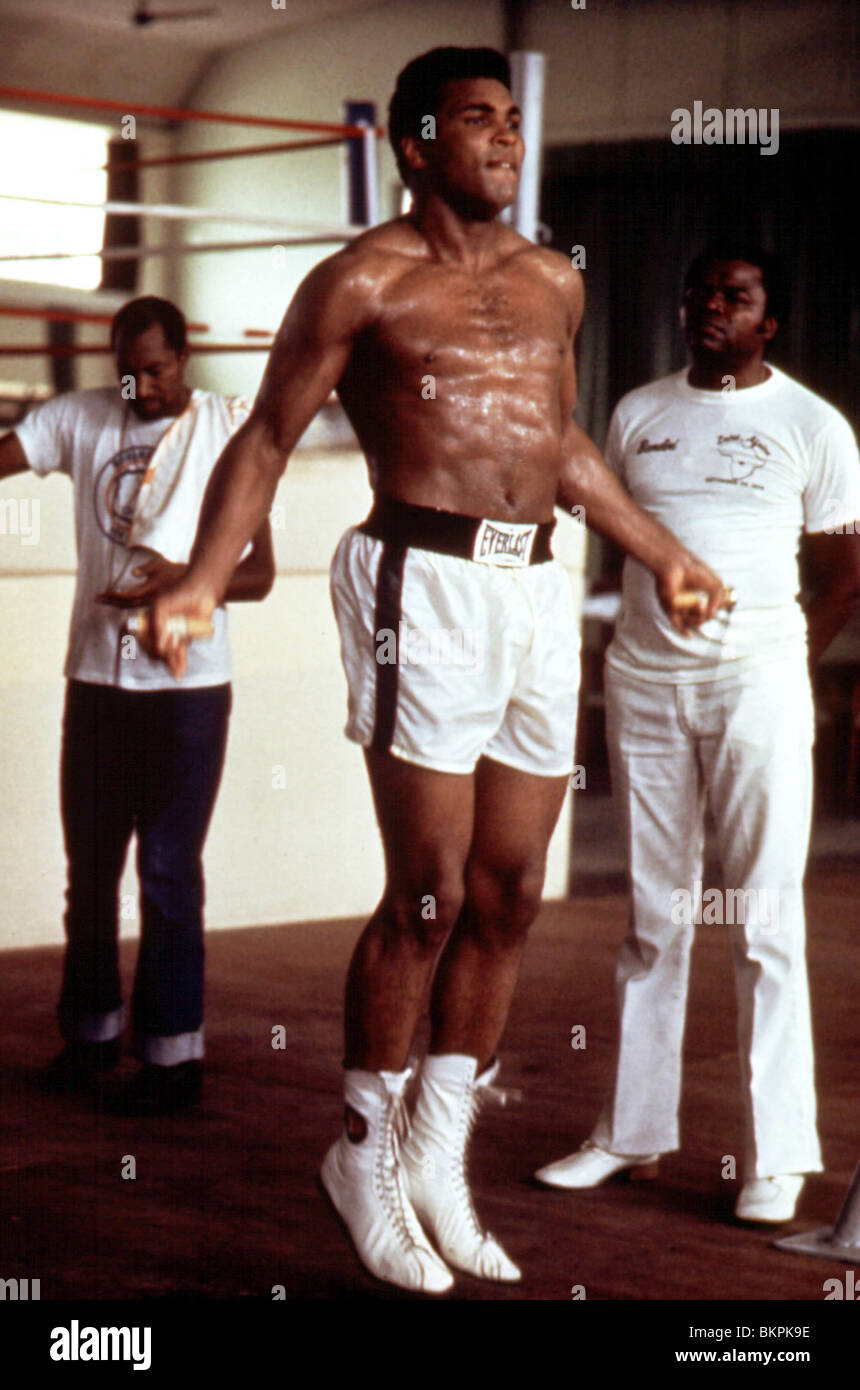 WHEN WE WERE KINGS (1997) MUHAMMAD ALI WWWK 002 - Stock Image