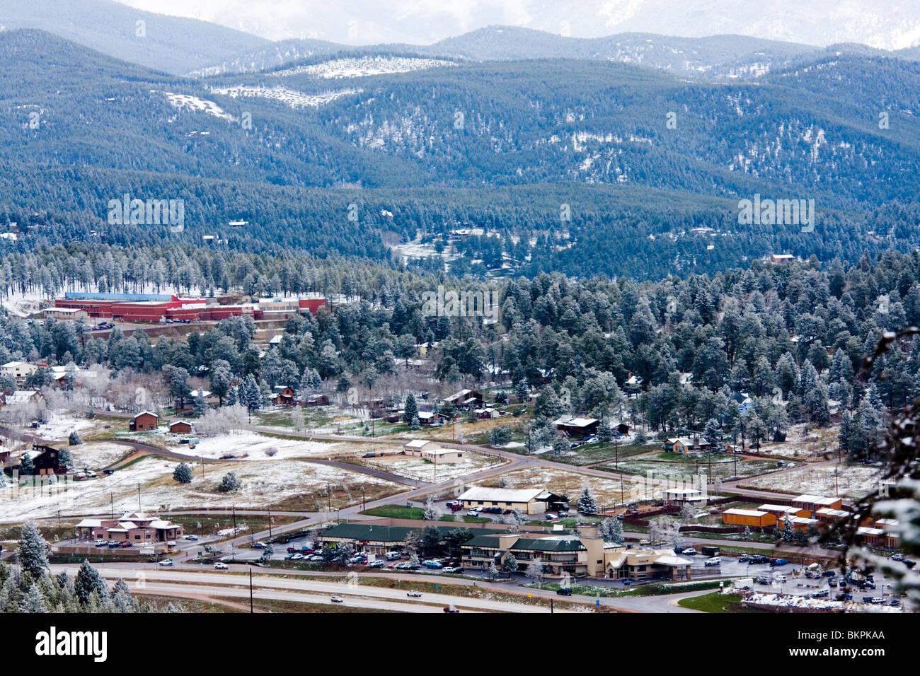 Aspen Park / Conifer Colorado - Stock Image