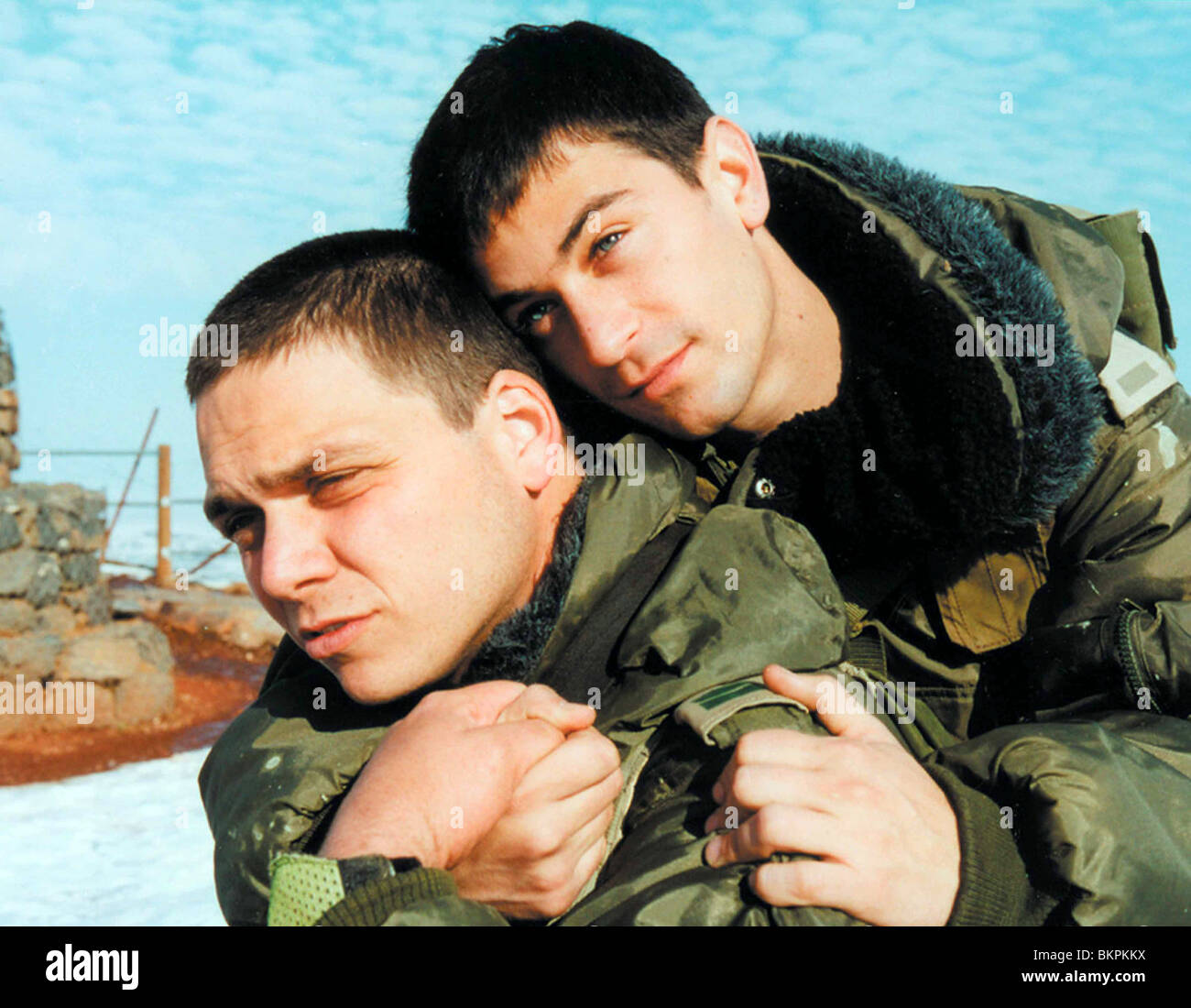 YOSSI & JAGGER (2002) OHAD KNOLLER, YEHUDA LEVI EYTAN FOX (DIR) YOJA 002 - Stock Image