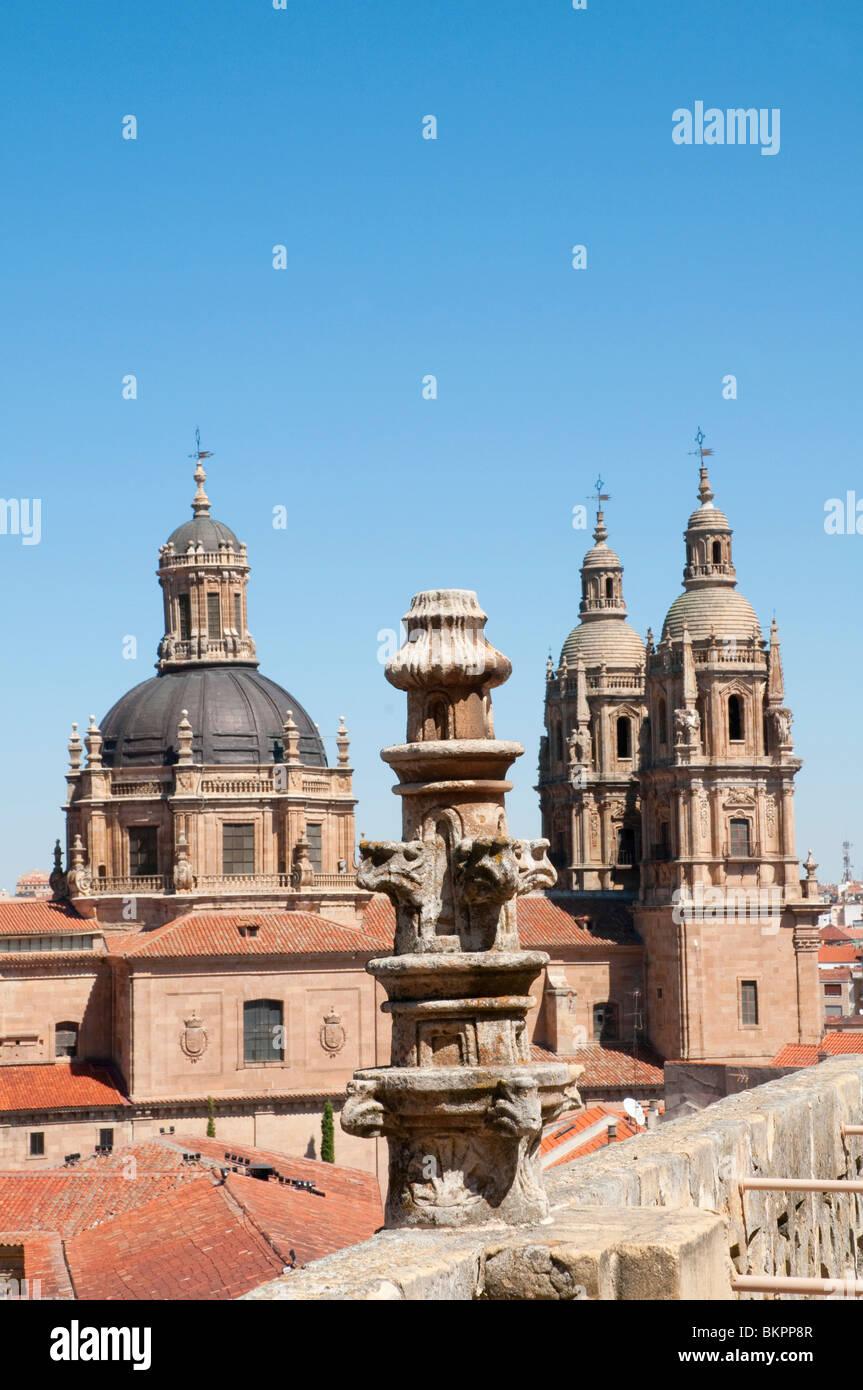 Clerecia church. Salamanca, Castilla Leon, Spain. - Stock Image