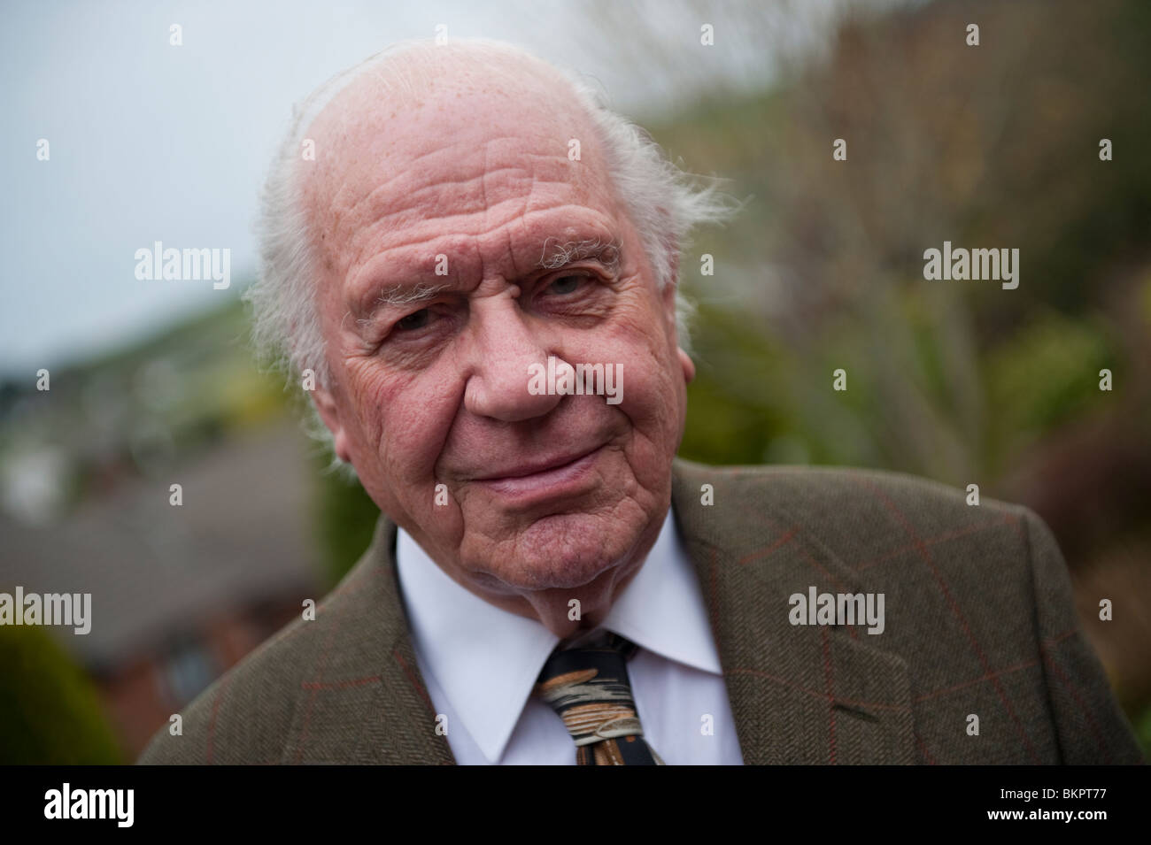 Harold Carter, emeritus professor of human geography, University of Wales , UK - Stock Image