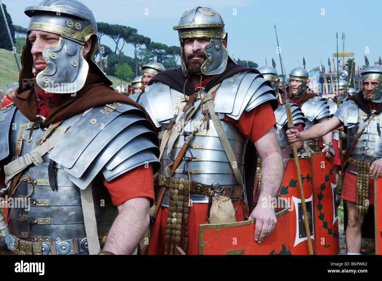 Legionary Roman Soldier History Roman Re Enactors Festival 2010