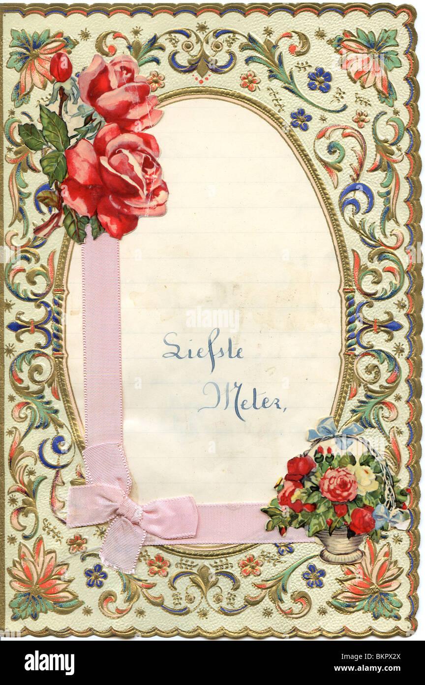 decorative writing paper stock photo: 29392242 - alamy
