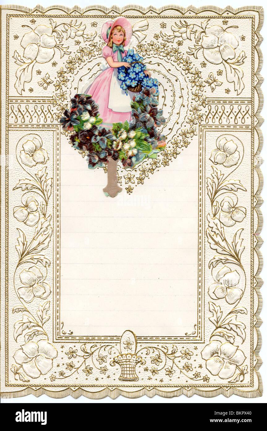 decorative writing paper stock photo: 29392272 - alamy