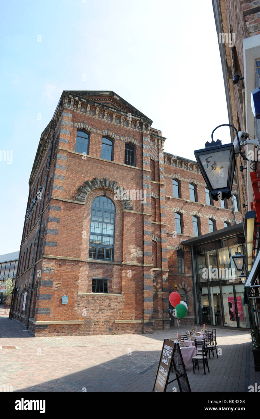 Springfield Mill built in 1864 now a regenerated carpet factory in Kidderminster Worcestershire England UK - Stock Image