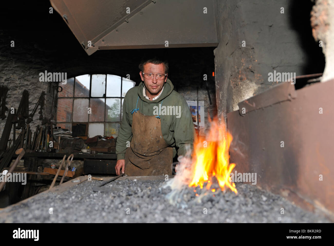 Foundry Forge - Stock Image