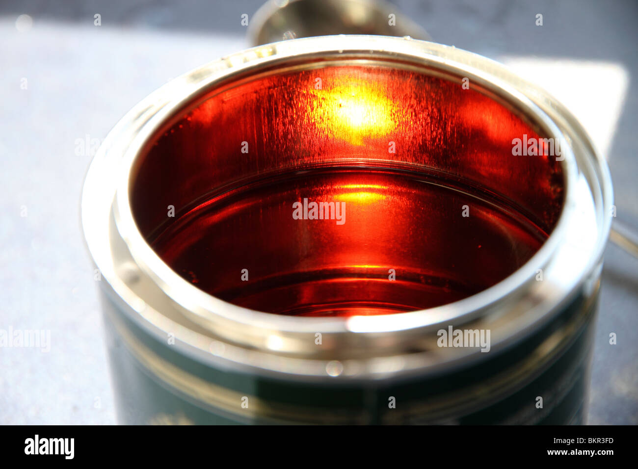 golden syrup - Stock Image