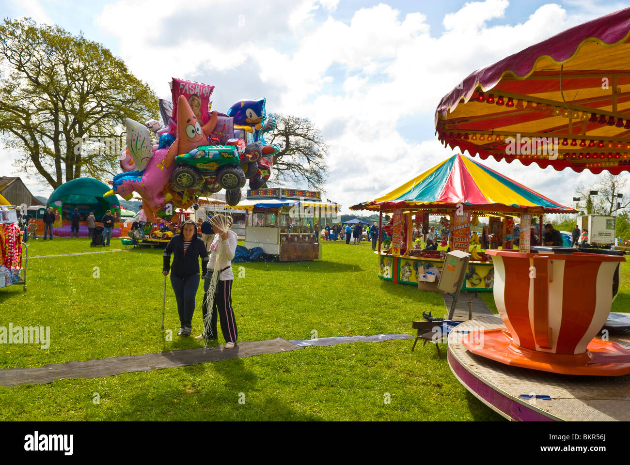 Country fair - Stock Image