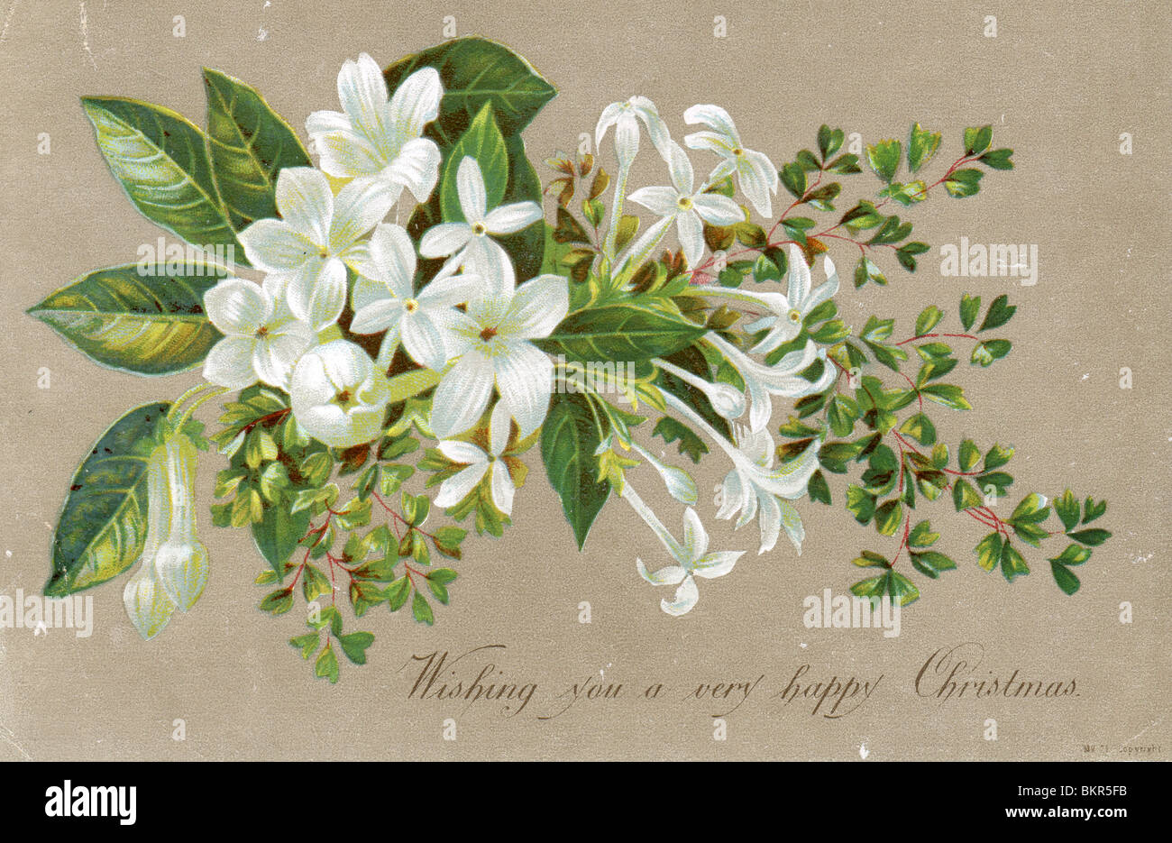 VICTORIAN CHRISTMAS CARD Stock Photo: 29398079 - Alamy