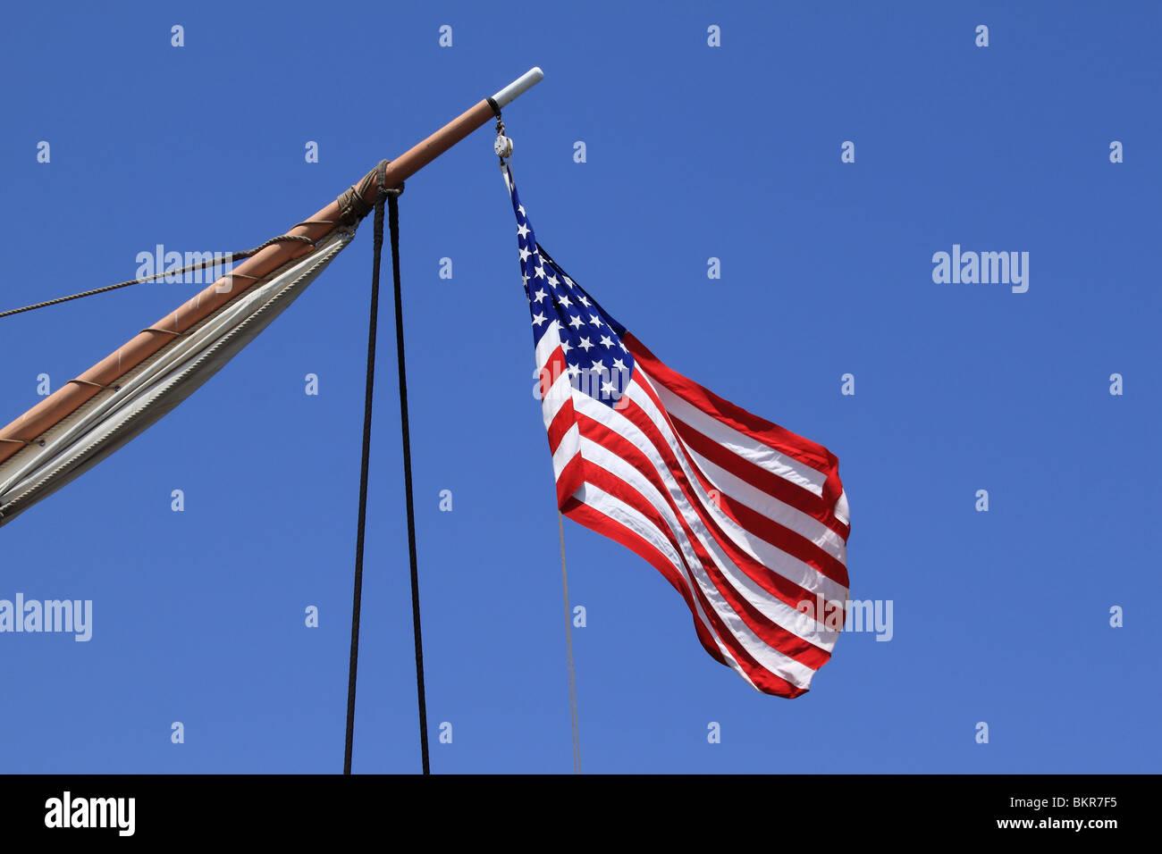 USA flag - Stock Image