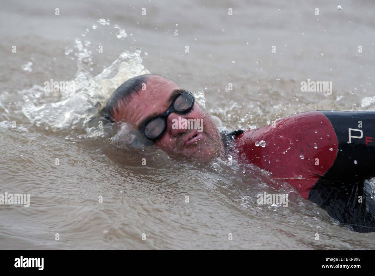BIG RIVER MAN (2009) JOHN MARINOUIN (DIR) 003 - Stock Image