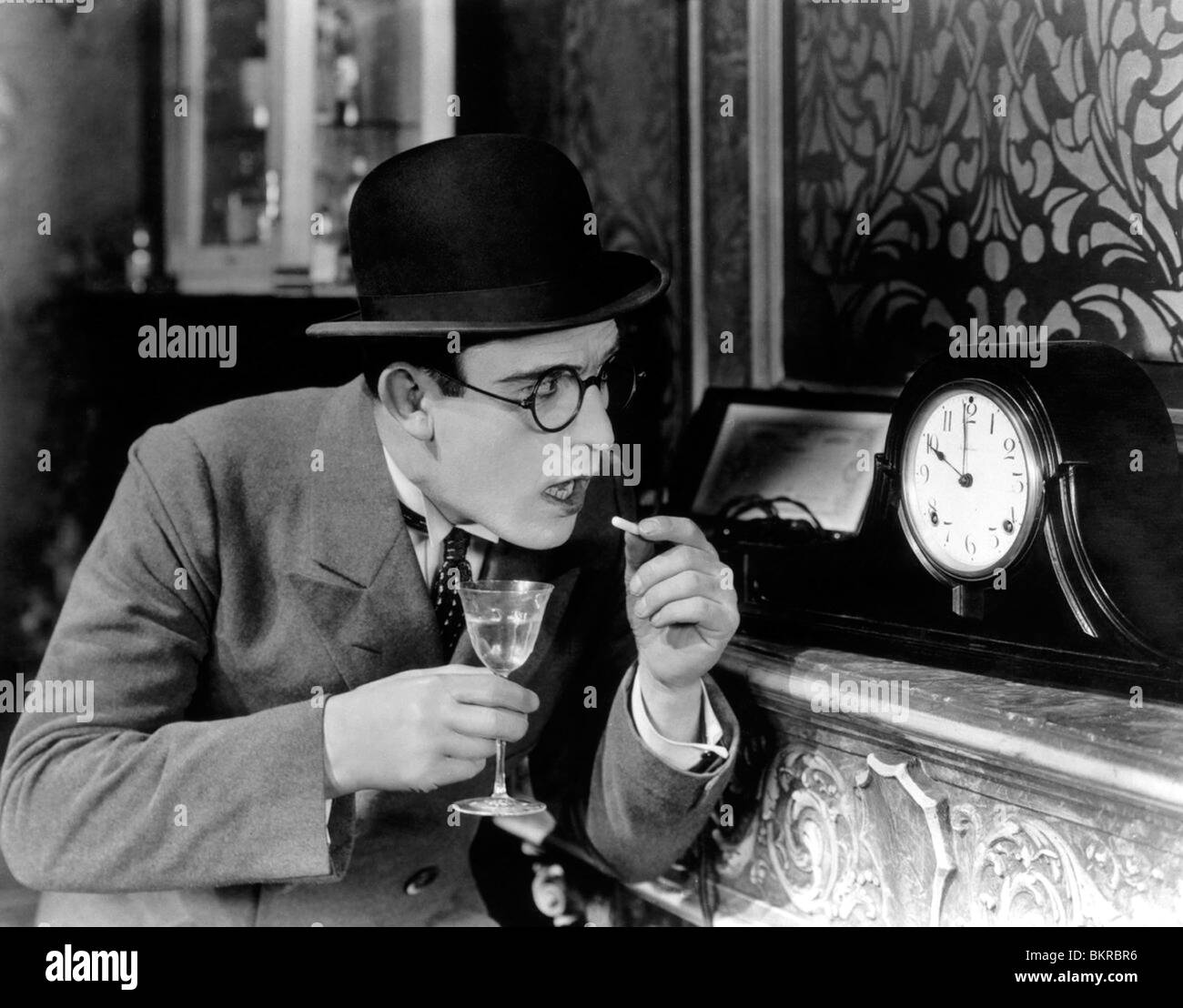 HIGH AND DIZZY (1920) HAROLD LLOYD HAL ROACH (DIR) 001 - Stock Image
