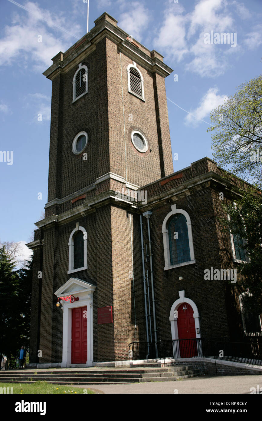 St Mary Magdalene parish church in Woolwich, London, UK Stock Photo