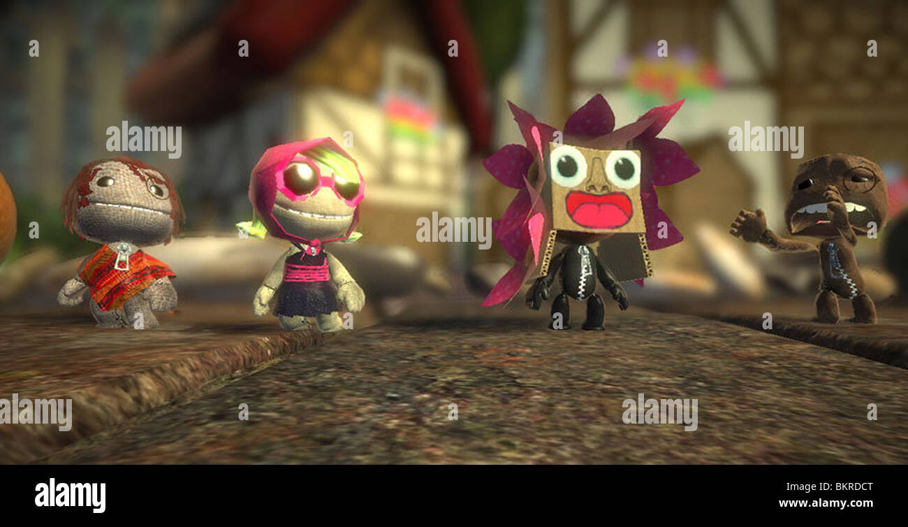 LITTLE BIG PLANET -2008 (VG) - Stock Image