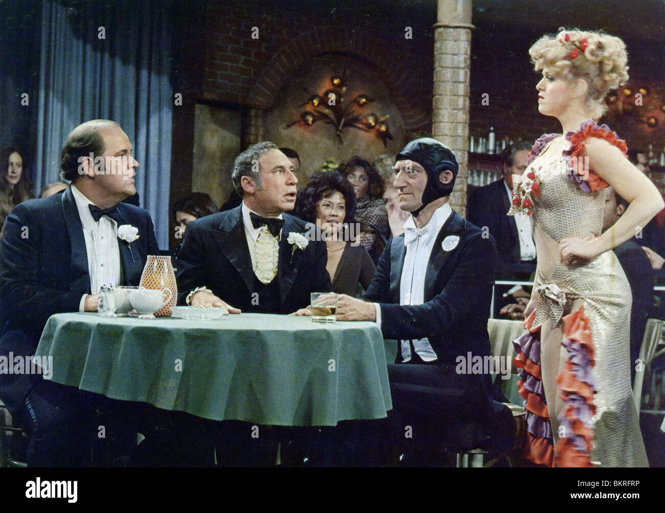 Silent Movie 1976 Mel Brooks Mel Brooks Dir 001 Stock Photo