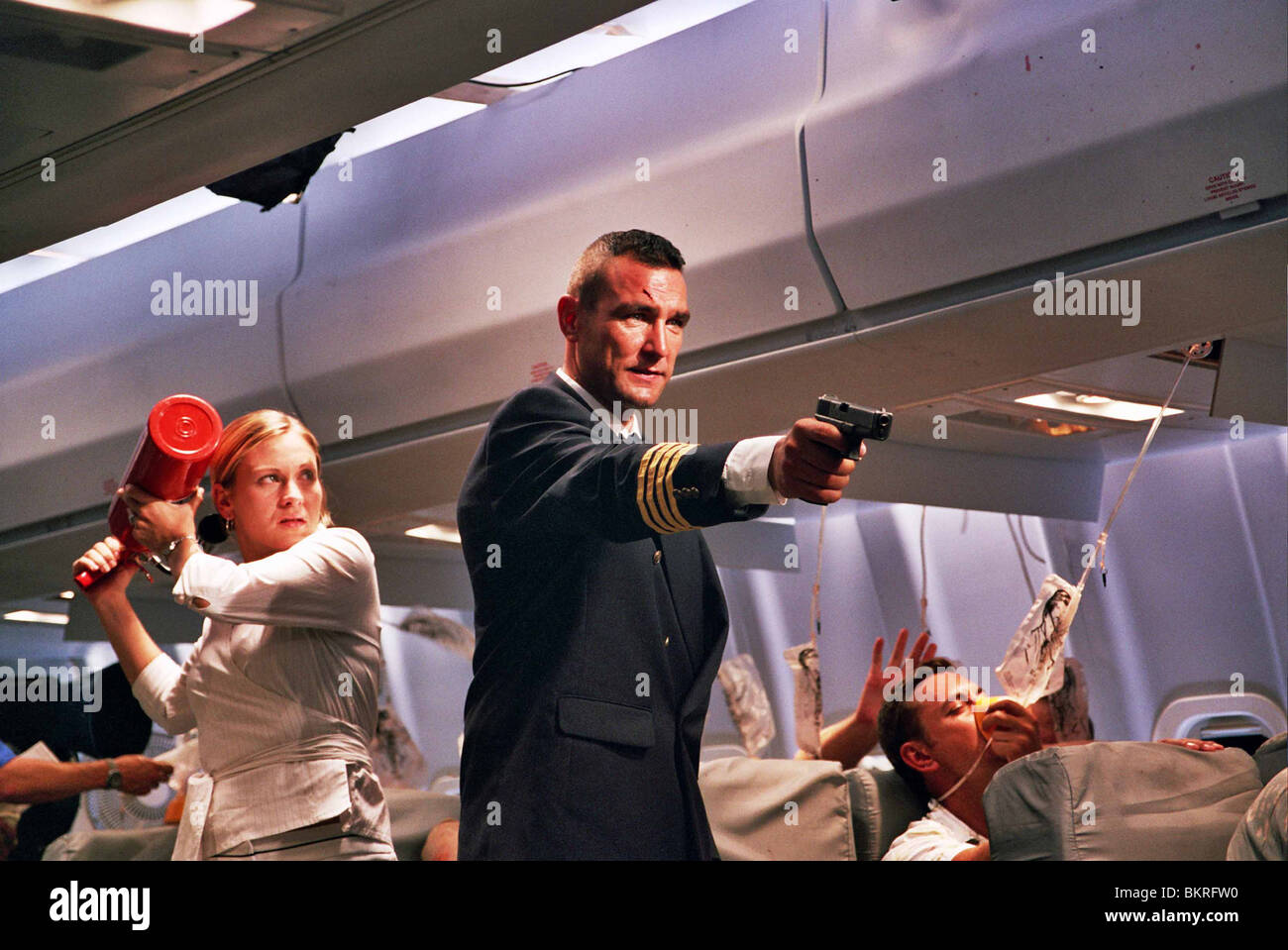SLIPSTREAM (2007) VINNIE JONES ANTHONY HOPKINS (DIR) 001 Stock Photo