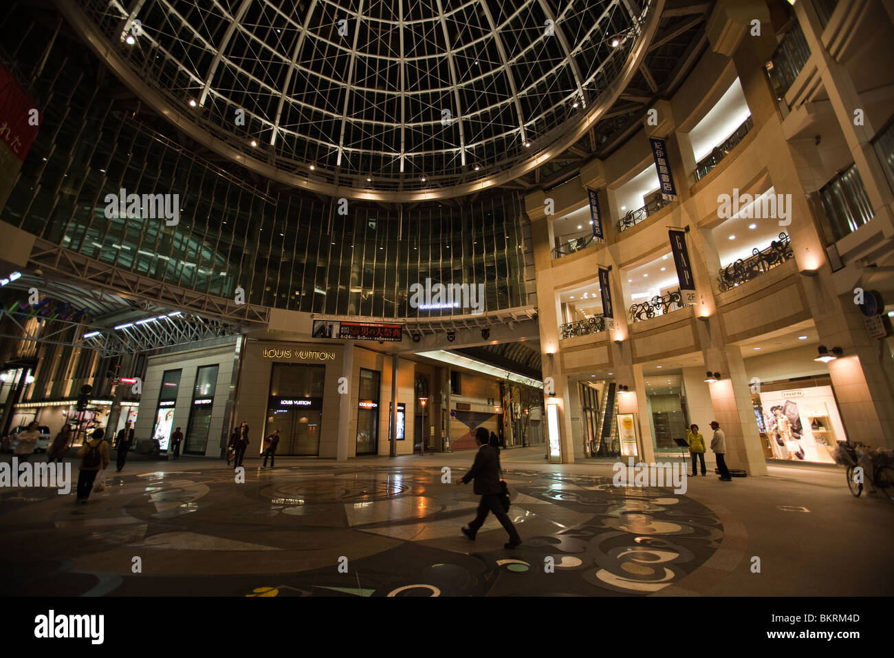 Takamatsu Central Shopping Mall, Takamatsu Arcade - Stock Image
