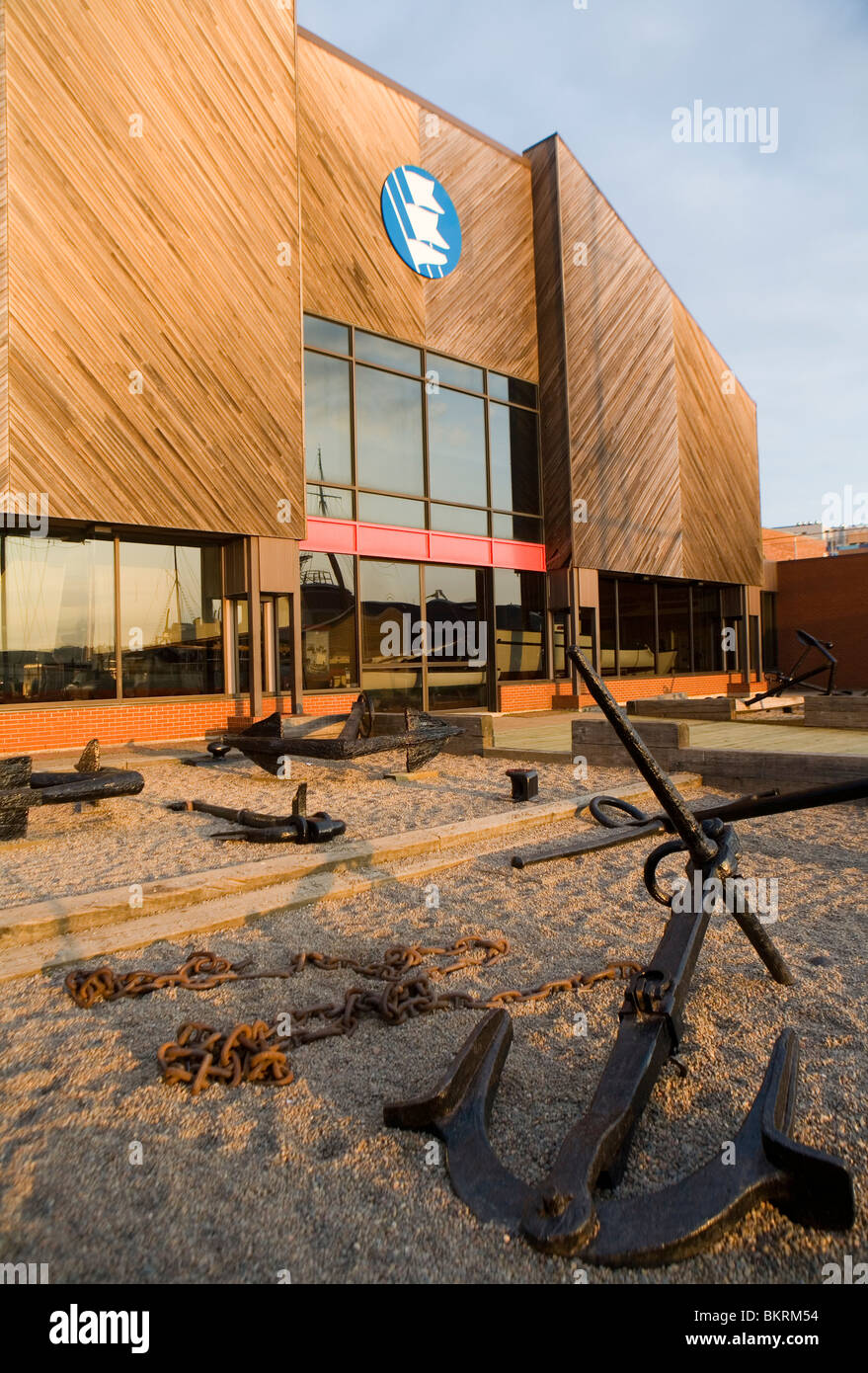 Maritime Museum of the Atlantic on Halifax's waterfront - Stock Image