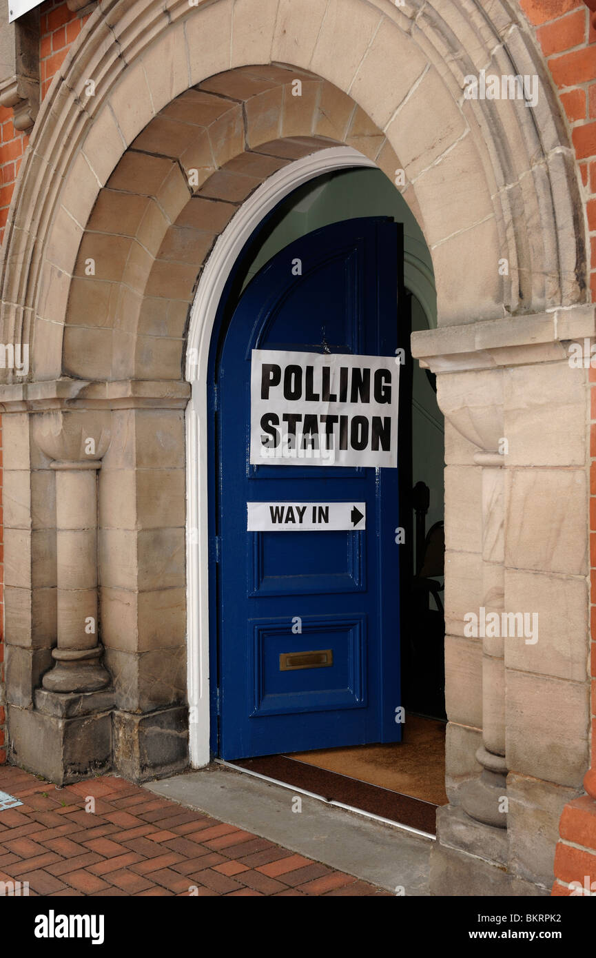 Election Polling Station - Stock Image