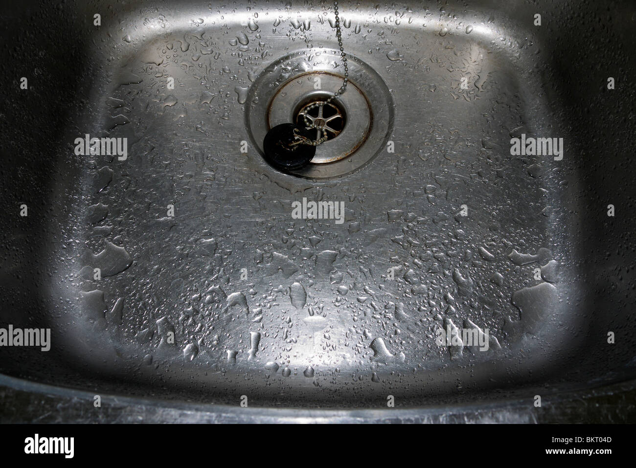 Down my plughole 2 - Stock Image